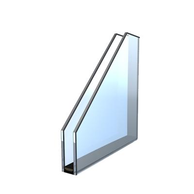 Standardglas 2-fach