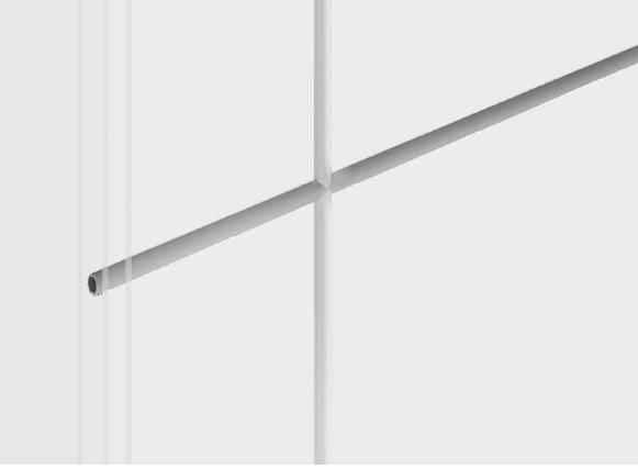 Isolierglassprosse weiß, farbig oder foliert