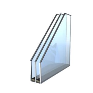 Wärmeschutzglas 3-fach (Aufpreis pflichtig)